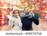 holidays  winter  christmas ... | Shutterstock . vector #498574768
