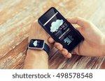 technology  application ... | Shutterstock . vector #498578548