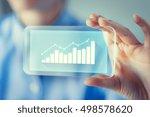 business  technology  satistics ... | Shutterstock . vector #498578620