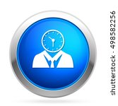 managing time  icon | Shutterstock .eps vector #498582256
