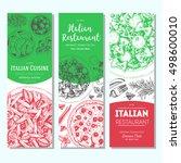 italian food vintage design... | Shutterstock .eps vector #498600010