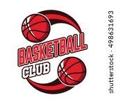 basketball badge logo  american ...   Shutterstock .eps vector #498631693