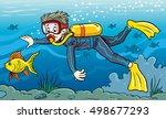 diving | Shutterstock .eps vector #498677293