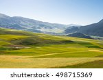 qilian  china   jul 30 2016 ... | Shutterstock . vector #498715369
