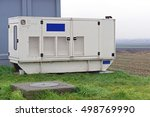 emergency electric power... | Shutterstock . vector #498769990