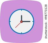 clock | Shutterstock .eps vector #498773128