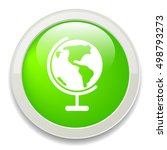 earth planet icon | Shutterstock .eps vector #498793273