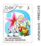 cuba   circa 1981  a stamp...   Shutterstock . vector #49881145