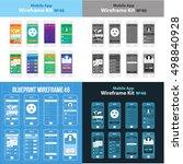 mobile wireframe app ui kit 46.
