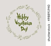 vegan product label. world...   Shutterstock .eps vector #498891940