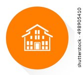 villa icon | Shutterstock .eps vector #498905410