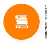 books library icon | Shutterstock .eps vector #498906574