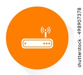 router icon | Shutterstock .eps vector #498907378