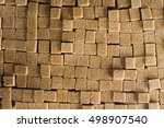 background formed by a set of... | Shutterstock . vector #498907540
