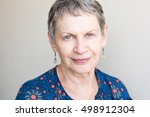 Portrait Of Older Woman With...