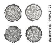 Tree Rings Vector Set