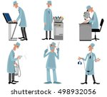 vector illustration of a six... | Shutterstock .eps vector #498932056