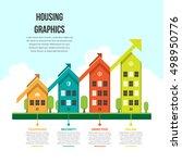 vector illustration of housing... | Shutterstock .eps vector #498950776