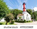 rozewie lighthouse   Shutterstock . vector #499035889