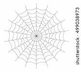 black web icon on white...   Shutterstock .eps vector #499038973