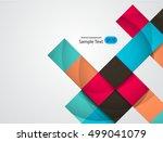 abstract vector design eps 10 | Shutterstock .eps vector #499041079