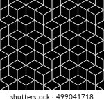 abstract geometric hipster... | Shutterstock .eps vector #499041718