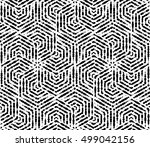 stylish seamless background.... | Shutterstock . vector #499042156