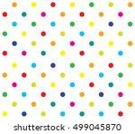 vector seamless polka dot girl...