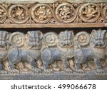 Lions Protecting The Temple