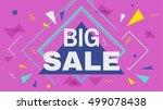 big super sale horizontal...   Shutterstock .eps vector #499078438