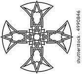 celtic knot  57 | Shutterstock .eps vector #4990846