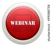 webinar button   Shutterstock .eps vector #499088758