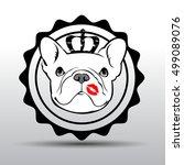 dog vector breed cute pet...   Shutterstock .eps vector #499089076