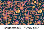 Seamless Batik Pattern.able To...