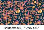 Seamless Batik Pattern.able To...