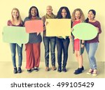 girls friendship togetherness... | Shutterstock . vector #499105429