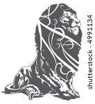 lion   Shutterstock .eps vector #4991134