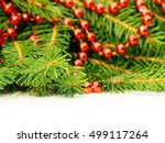 new year's background.... | Shutterstock . vector #499117264