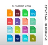 file format icon pack   flat...