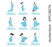 fashion logos | Shutterstock .eps vector #499138276