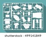 model kit of publication  flat... | Shutterstock .eps vector #499141849