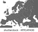 high detailed vector map of... | Shutterstock .eps vector #499149430