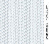 abstract hi tech geometric... | Shutterstock .eps vector #499189294