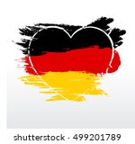 Love Germany Grunge Painted ...