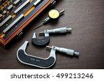 gauge block set with outside...   Shutterstock . vector #499213246