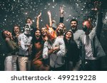 this is my year  group of young ... | Shutterstock . vector #499219228