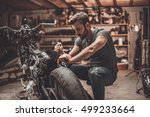this bike will be perfect.... | Shutterstock . vector #499233664