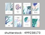 set of creative universal... | Shutterstock .eps vector #499238173