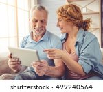 beautiful happy mature couple...   Shutterstock . vector #499240564