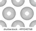 vector seamless texture. modern ...   Shutterstock .eps vector #499240768